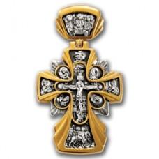 «Распятие. Икона Божией Матери «Державная»