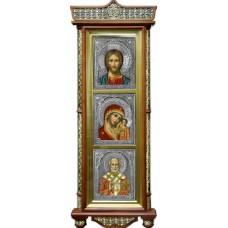 Господь Вседержитель, М.Б.Казанская, Свт. Николай
